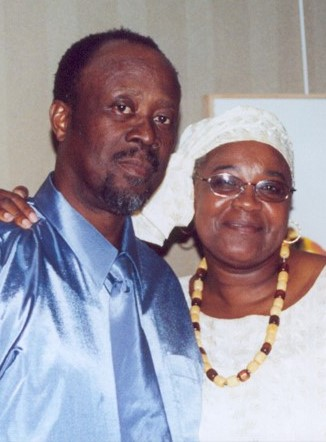 Daddy and mommy old